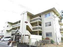 大阪府富田林市津々山台5丁目の賃貸マンションの外観