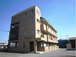栃木県宇都宮市城南3丁目の賃貸マンションの外観