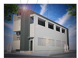仮称)ハーモニーテラス大阪市旭区大宮四丁目・SKHコーポA号[1階]の外観