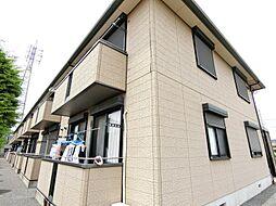 埼玉県越谷市東越谷8丁目の賃貸アパートの外観