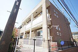 神奈川県藤沢市湘南台4丁目の賃貸アパートの外観