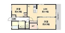 Maison  NOZOMI   (メゾンノゾミ) 2階2LDKの間取り