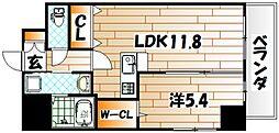 パークテラス浅生[7階]の間取り