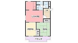 兵庫県西宮市清水町の賃貸マンションの間取り