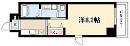 仮)熱田区波寄町マンション 5階1Kの間取り