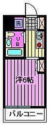 TOP川口第1[209号室]の間取り