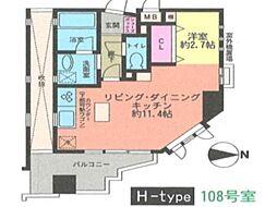 兵庫県神戸市垂水区五色山1丁目の賃貸マンションの間取り