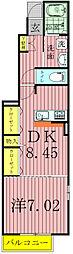 イーストヒルI・II[1階]の間取り