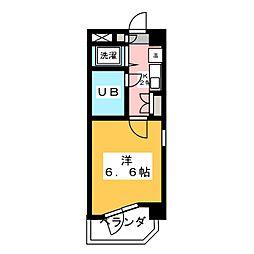 ファーストスプリング[4階]の間取り
