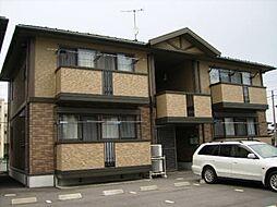 群馬県高崎市片岡町の賃貸アパートの外観