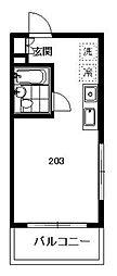 シェルハウス湘南[2階]の間取り