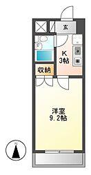 アーバンホーム2[3階]の間取り