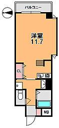 フレアコート奈良[4階]の間取り