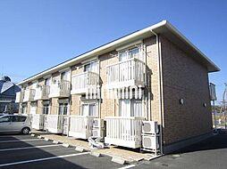 三重県伊賀市ゆめが丘2の賃貸アパートの外観