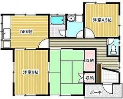 [一戸建] 神奈川県厚木市林5丁目 の賃貸【/】の間取り