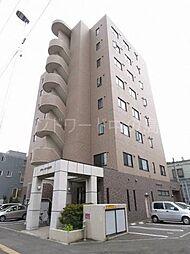 北海道札幌市豊平区豊平四条13丁目の賃貸マンションの外観