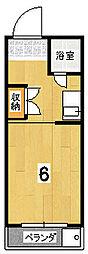 橋政荘[2階]の間取り