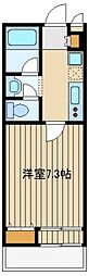 東京都西東京市ひばりが丘1の賃貸マンションの間取り