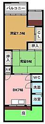 [テラスハウス] 愛知県名古屋市昭和区小坂町3丁目 の賃貸【/】の間取り