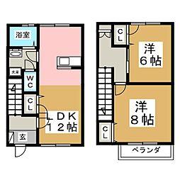 ノブレスN[2階]の間取り