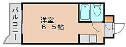 福岡県福岡市博多区博多駅東2の賃貸マンションの間取り