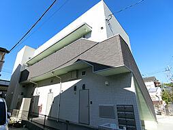 京都府京都市右京区太秦安井小山町の賃貸アパートの外観