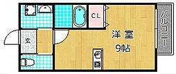 カーサ香里園[2階]の間取り