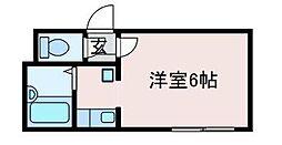 ロッシェル富士見2−1号棟[2階]の間取り