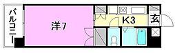 メゾン中村5[206 号室号室]の間取り