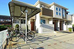 愛知県あま市中萱津五反田の賃貸アパートの外観