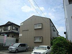 愛知県長久手市武蔵塚の賃貸アパートの外観