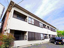 東京都西東京市ひばりが丘北4丁目の賃貸アパートの外観