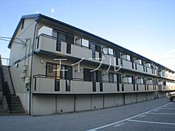 kanada B棟[2階]の外観