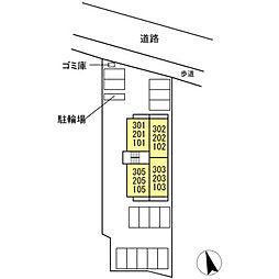 (仮)D-room 住吉 II[305号室]の外観