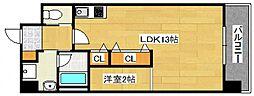 DiasII 鶴見6丁目新築[802号室号室]の間取り