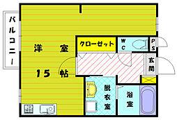セジュールRY[1階]の間取り