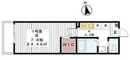 Friendly新検見川[301号室]の間取り