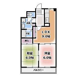 NAマンションI・II[2階]の間取り