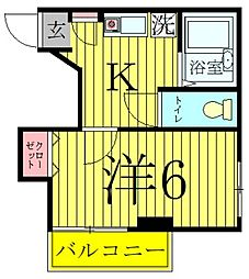 SKヴィラ[1階]の間取り