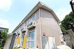 東京都調布市深大寺北町7丁目の賃貸アパートの外観
