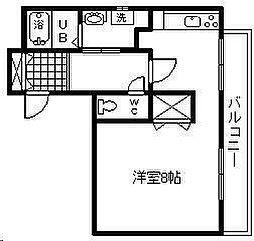 R1-N[306号室]の間取り