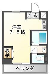 マインド3[5階]の間取り