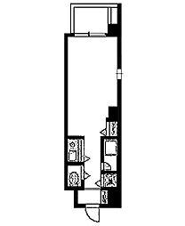 第20シグマビルディング関内[7階]の間取り