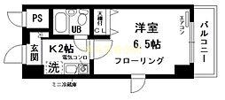 日神パレステージ蒔田[4階]の間取り