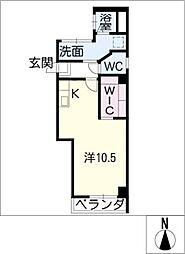 富士和ビル[4階]の間取り