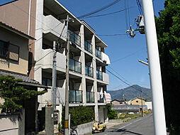 京都府京都市北区紫竹北栗栖町の賃貸マンションの外観