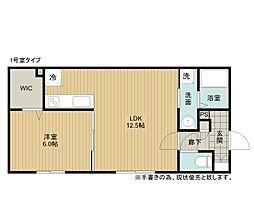 緑町新築AP[1階]の間取り