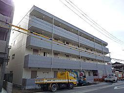 京都府京都市左京区松ヶ崎杉ヶ海道町の賃貸マンションの外観