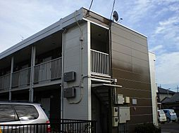 埼玉県さいたま市見沼区風渡野の賃貸アパートの外観