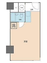 トーカン新宿キャステール[602号室]の間取り